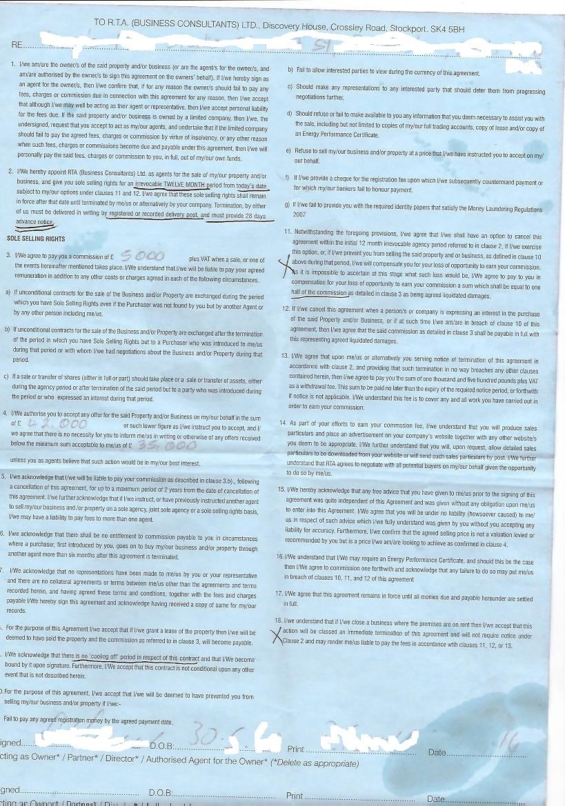 contract for cebta